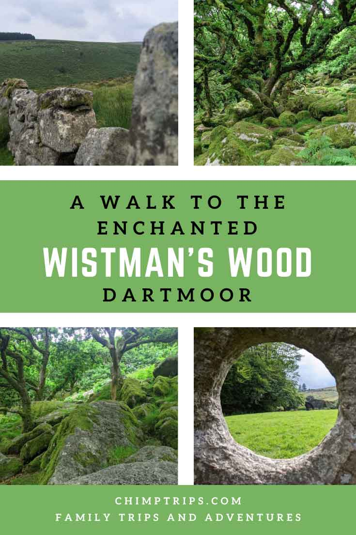 A walk to the enchanted Wistman's Wood