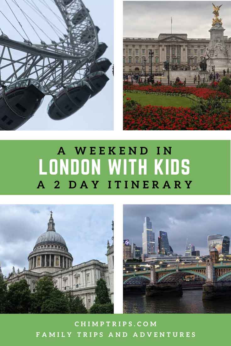 Pinterest: A weekend in London with kids