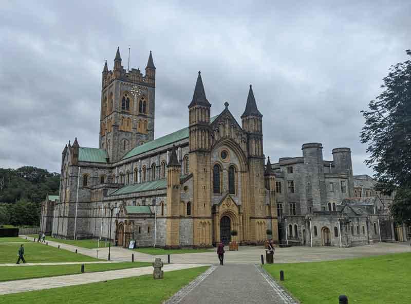 Buckfast Abbey, Dartmoor, UK