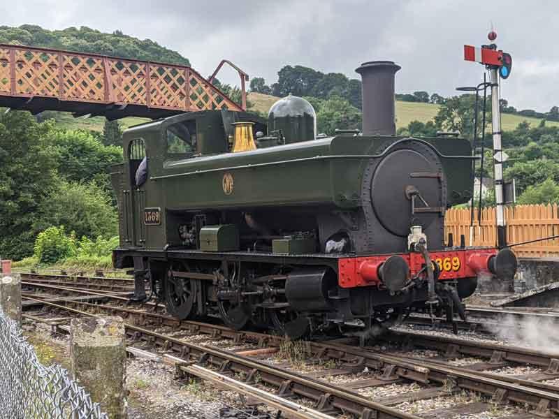 Devon Steam Railway, Buckfastleigh, UK