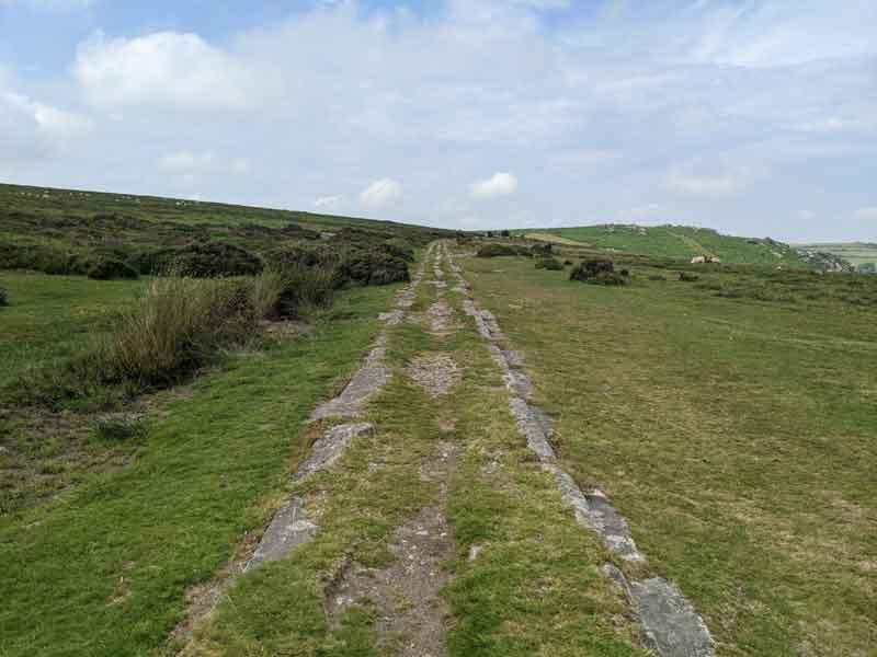Granite Tramway, Dartmoor, UK