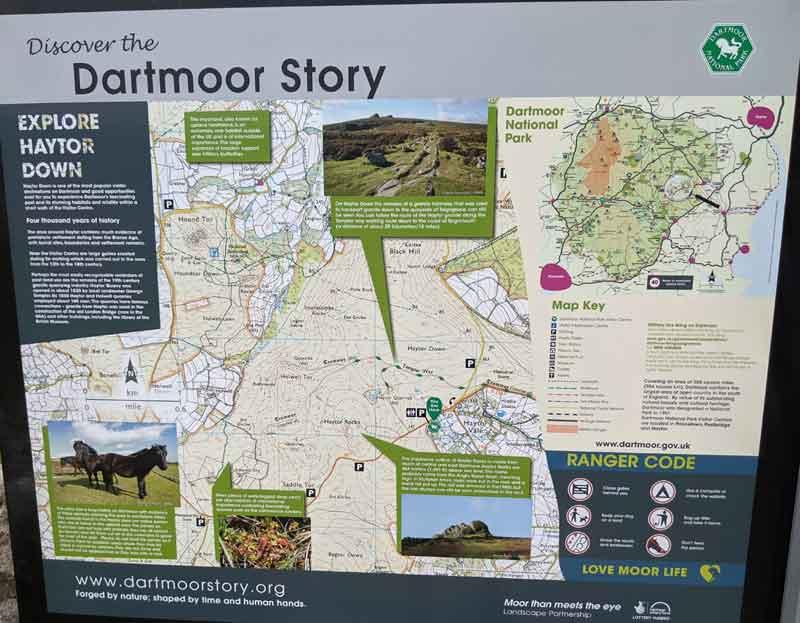 Haytor Visitor Center, Dartmoor, UK