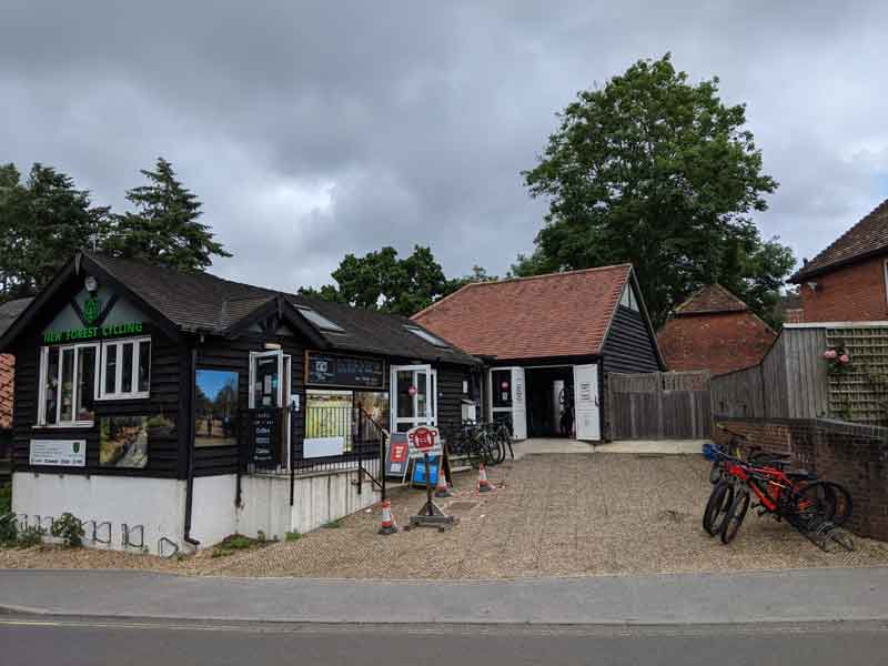 New Forest Cycling Shop, Hampshire, UK