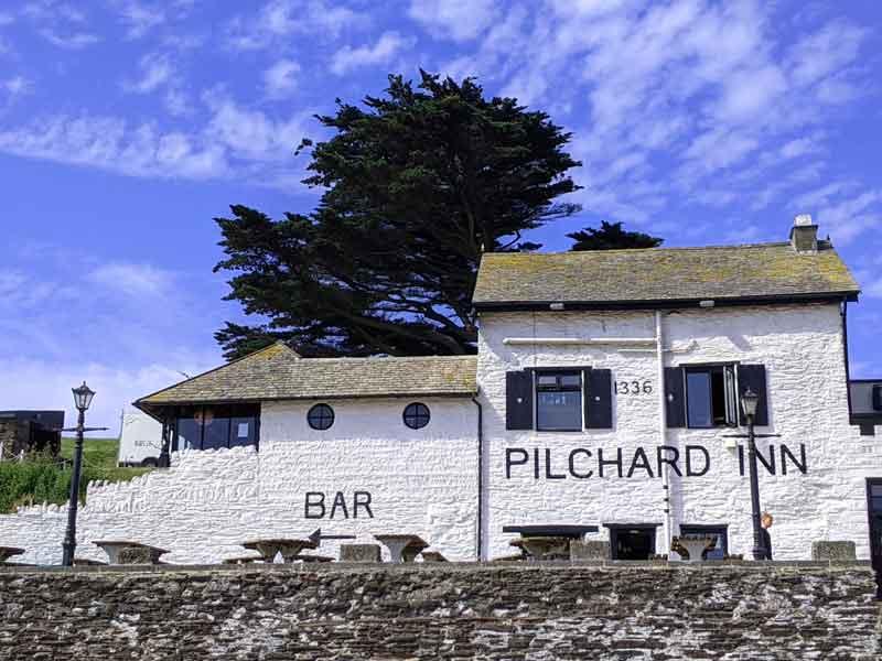 Pilchard Inn, Burgh Island, Devon, UK