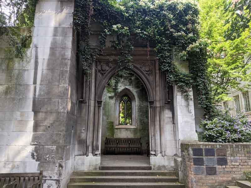 St Dunstan's in the East, London, UK