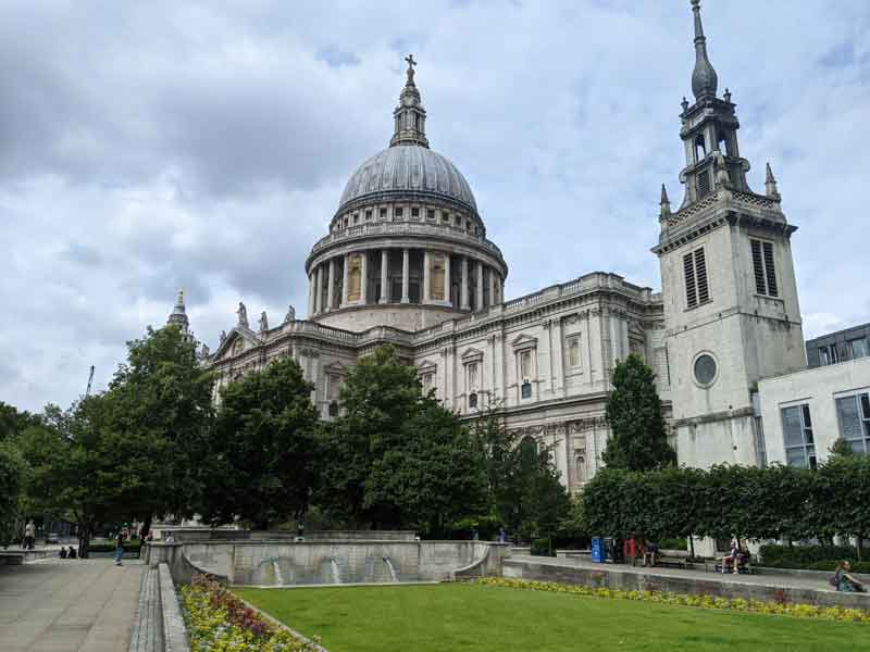 St Pauls London, UK