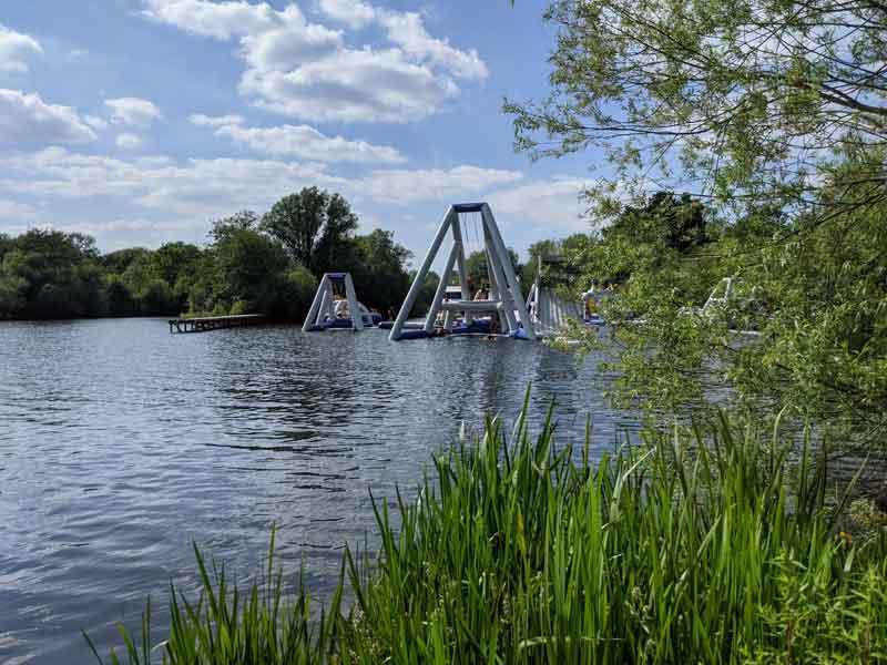 Thorpe Aqua Park, Surrey, UK