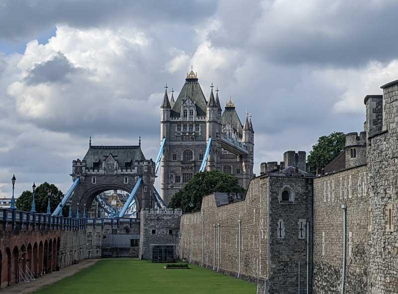 Tower of London & Tower Bridge, London, UK
