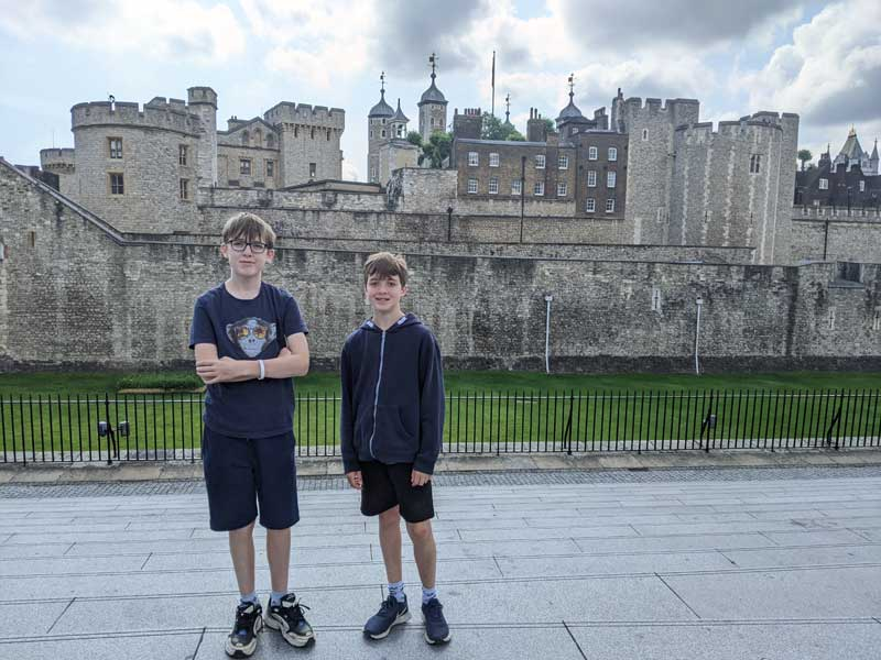 Tower of London Visit, London, UK