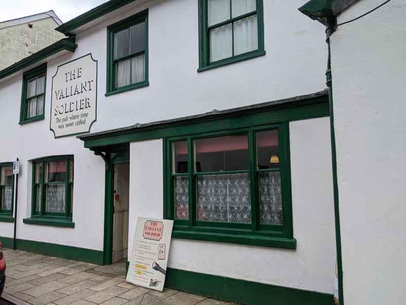 Valiant Soldier Pub, Buckfastleigh, UK