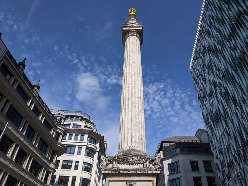 The London Monument, London, UK