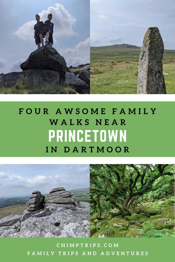 Pinterest: Four awesome family walks Princetown