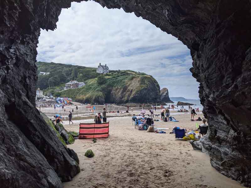 Llangranog Beach, Wales