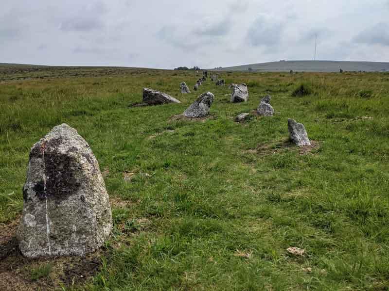 Merrivale Stones, Dartmoor, UK