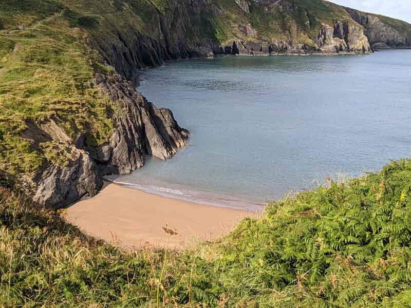 Mwnt Beach, Wales, UK