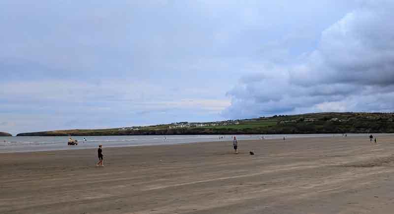 Poppit Sands, Ceredigion, Wales