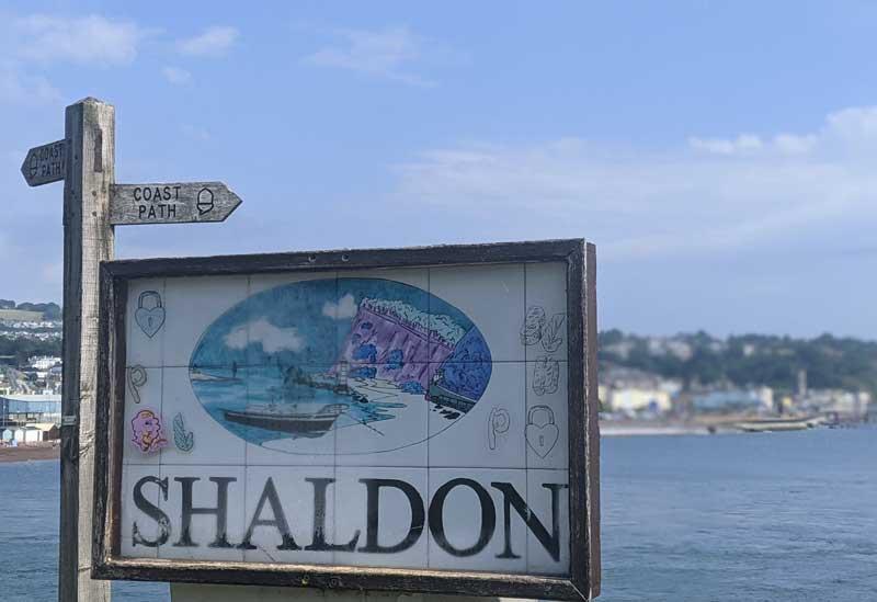Shaldon Village, Devon, UK