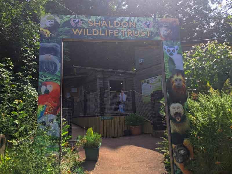 Shaldon Zoo, Shaldon, Devon, UK