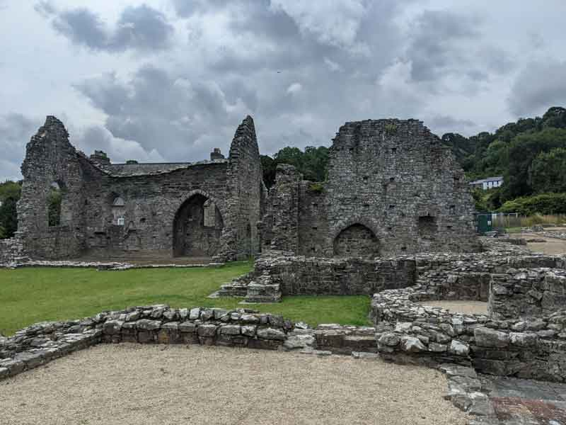 St Dogmaels Abbey, Wales