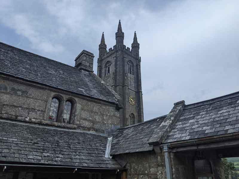 St Pancras Church, Widecombe, Dartmoor, UK