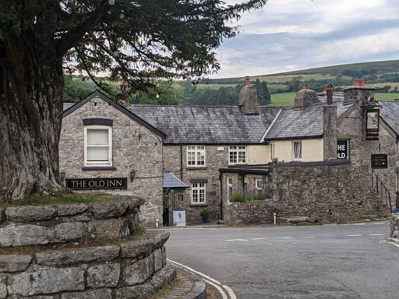 The Old Inn, Widecombe, Dartmoor, UK