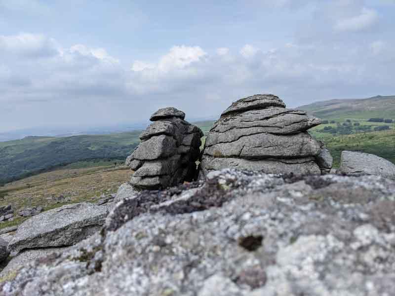 View from Kings Tor, Dartmoor, UK