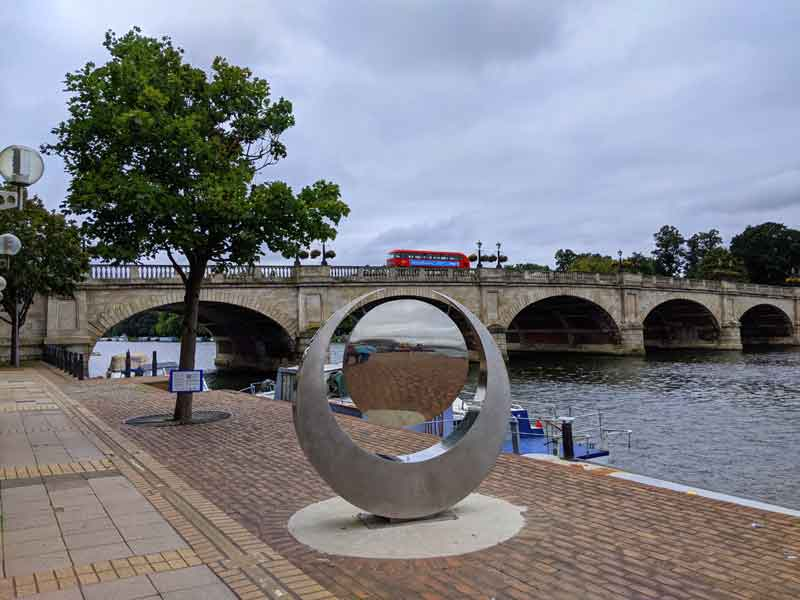Tide and Time by Marigold Hodgkinson, Kingston, UK